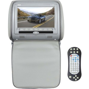 7in Hi-Res Headrest Video Disp Monitor W/DVD USB and SD Card Reader / Mfr. No.: Pl73dgr