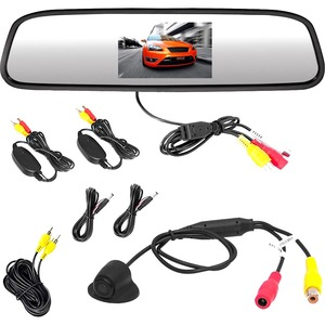 Wl Rear View Mirror Backup Cam Parking Assist Syst / Mfr. No.: Plcm4370wir