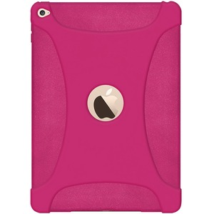 Silicone Skin Hot Pink Jelly Case For Apple IPad Air 2 / Mfr. No.: Amz97448
