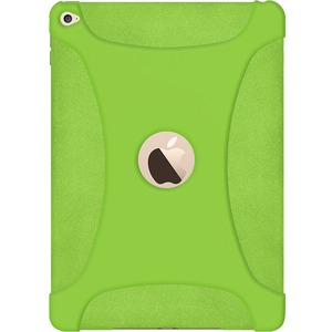 Silicone Skin Green Jelly Case For Apple IPad Air 2 / Mfr. No.: Amz97446