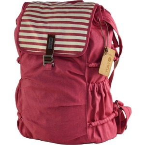 Yumc Melrose Red Backpack High Quality Washed Canvas / Mfr. No.: B3214cr