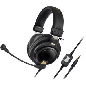 Premium Closed Back Gaming Headset Mic W/ Smartphone Cable / Mfr. No.: Ath-Pg1