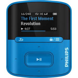 Philips GoGEAR MP3 Player SA4RGA04BN Raga 4GB with FullSound