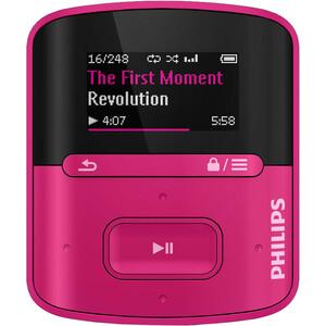 Philips GoGEAR MP3 Player SA4RGA04PN Raga 4GB with FullSound
