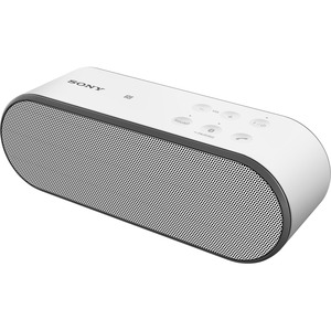 Sony SRS-X2 Wireless Speaker with NFC and Bluetooth, White