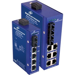 Ethernet Unmanaged Switch 4 Cooper 10/100 4 Single Mode Por / Mfr. No.: Esw208-4sc-T
