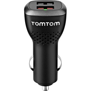 TomTom Universal USB dual car charger, 2 Pack 9UUC.001.22