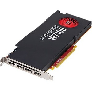 HP FirePro W7100 Graphic Card - 8 GB GDDR5 - PCI Express 3.0 x16 - Single Slot Space Required