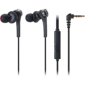 In-Ear Headphone Black With Smartphone Controls And Mic / Mfr. No.: Ath-Cks55xisbk