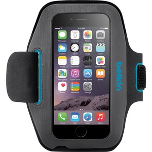 Sport-Fit Gravel/Topaz Armband For IPhone 6 Retail Box / Mfr. No.: F8w500btc03