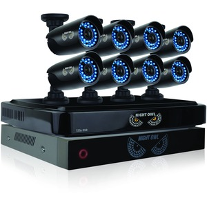 8 Channel Hd Security System / Mfr. Item No.: B-Bba720-82-8