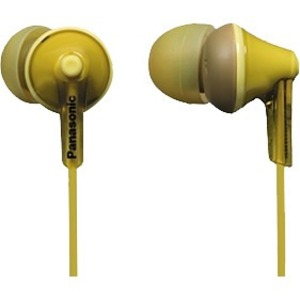Ergofit In-Ear Yellow Earphone / Mfr. No.: Rp-Hje125-Y