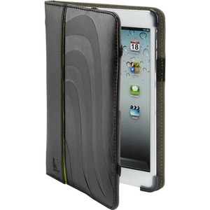 Black Leather IPad Mini Cover Maroo Smart Technology Hand Str / Mfr. No.: Mm-400