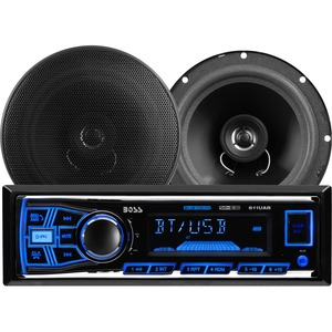 Mechless Receiver/Speaker Package Bluetooth Enabled/Audio Streaming / Mfr. No.: 638bck
