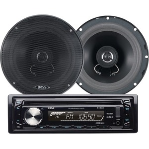 Cd/Mp3 Am/Fm Receiver Package W/ One Pair Of 6.5in Speaker / Mfr. No.: 654ck