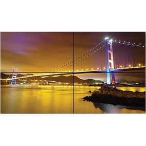 "NEC Display 46"" LED-Backlit 3.5mm Bezel 2x2 Video Wall Bundle"