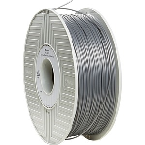 Pla 3d Filament 1.75mm 1kg Reel Silver / Mfr. No.: 55258
