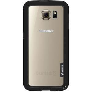 Amzer Black Border Hybrid Bumper Case For Samsung Galaxy S6 G920 / Mfr. No.: Amz97614