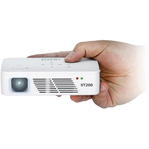 St200 Short Throw LED Projector 150l 720p USB HDMI Mini-VGA 0.7 / Mfr. No.: Kp-350-01