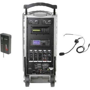 Califone SD Portable PA with Handheld Wireless Mic