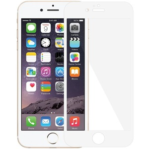 Edge2edge White Tempered Glass For IPhone 6 Plus / Mfr. No.: Amz97380