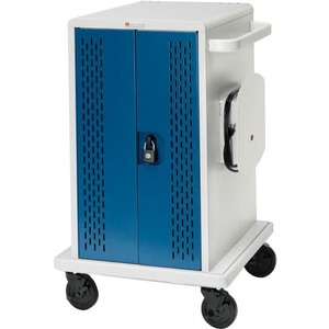 36unit Chromebook Charging Cart Locking Access Doors Swivel Cas / Mfr. No.: Core36ms-Cttz