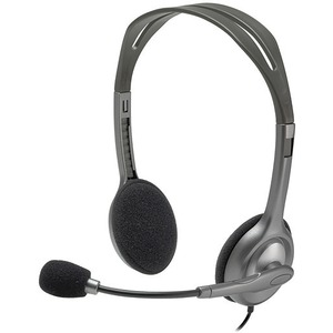 H111 Stereo Headset Stereo Communication Music Head / Mfr. No.: 981-000612