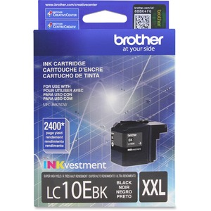 Lc10ebk Black Ink Cartridge For Mfc-J6925dw Ultra High Yield / Mfr. No.: Lc10ebk