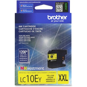 Lc10ey Yellow Ink Cartridge For Mfc-J6925dw Super High Yield / Mfr. No.: Lc10ey