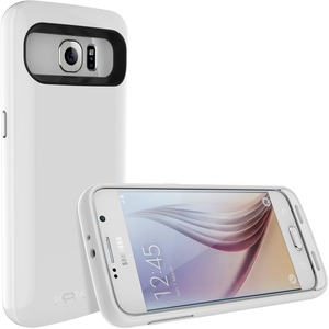 Extended Battery Case Wht For Samsung S6 3500mah / Mfr. No.: Mt-Sg6w