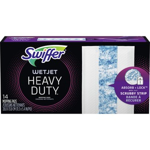 """Swiffer WetJet Heavy-duty Mopping Pad Refill - 10"""" Width"""