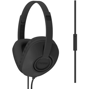 Blk Full Size Headphone W/ Mic Unique D-Profile Shape One Touc / Mfr. No.: Ur23ik