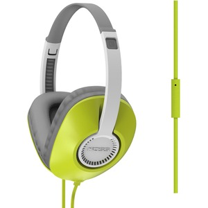 Grn Full Size Headphone W/ Mic Unique D-Profile Shape One Touc / Mfr. No.: Ur23ig