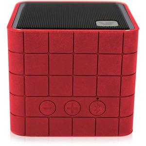 V7 Mobile Bluetooth Speaker 2W - red