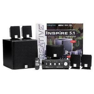 Creative Inspire 5.1 Digital 5700 Multimedia Theater System