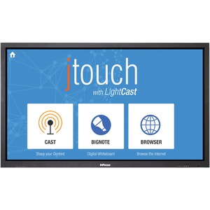 Jtouch 65in Touch Display W/O PC W/ Lightcast And Anti-Glare / Mfr. No.: Inf6501cag