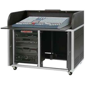 Raxxess Elite ERT-ST Roll Top A/V Cabinet