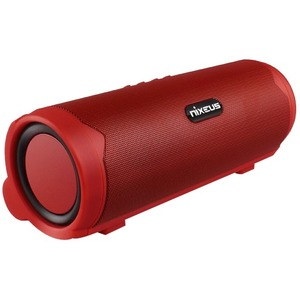 Bluetooth 4.0 Portable Speaker With Powerbank Red / Mfr. No.: Arc4-Rd15
