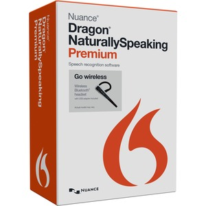 Eng Dragon Naturallyspeaking Prem 13.0 Mailer Wireless W/ Bluetooth Heads / Mfr. No.: K609b-Ln9-13.0