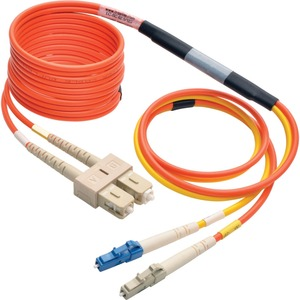 3m/10ft Fiber Optic Mode Conditioning Lc/Mc To Sc Patch / Mfr. No.: N425-03m