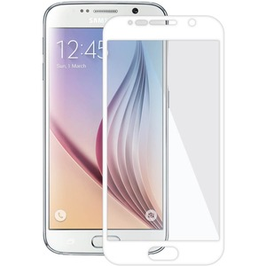 Edge2edge Tempered Glass For Samsung Galaxy S6 White / Mfr. No.: Amz97839