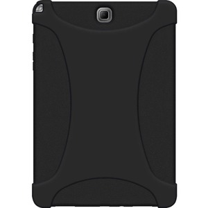 Black Rugged Silicone Skin For Samsung Galaxy Tab A 9.7 / Mfr. No.: Amz97792