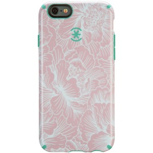 Candyshell Inked Fresh Floral Pink/Blue For Apple IPhone 6 / Mfr. No.: Spk-A3133
