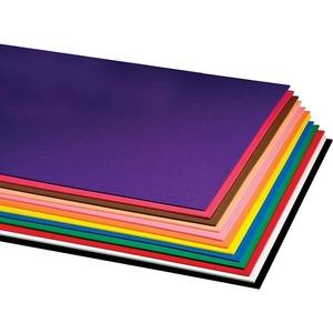 "Hygloss® Craft Foam Sheets 12"" x 18"" Assorted Colours 10/pkg"