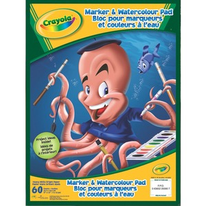 Crayola® Marker & Watercolour Pad 60 shts/pad