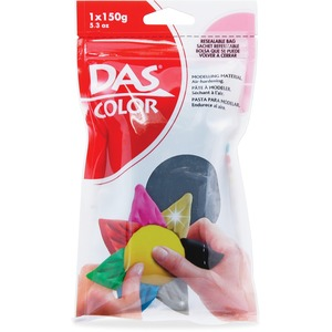 DAS® Air Hardening Modelling Clay 150 g Black