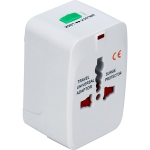 Premium World Power Travel Adaptor Kit W/Surge Prot White / Mfr. No.: Pa-C3wh