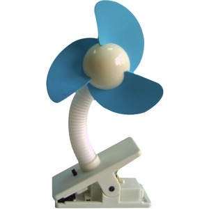 Dreambaby Soft Foam Blades Blue/White Stroller Fan / Mfr. No.: L230