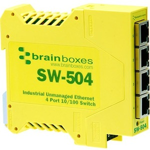 20pk Industrial Ethernet 4port Switch Includes Manual Product Guid / Mfr. No.: Sw-504-X20m