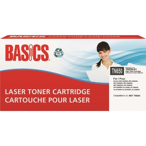 Basics® Laser Cartridges (Brother® TN650) HY Black